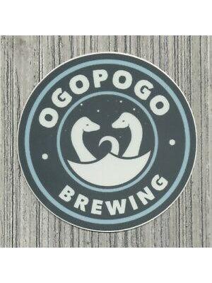 "Ogopogo Brewing ""Willatuk"" Hazy Double IPA 16oz can - San Gabriel, CA"