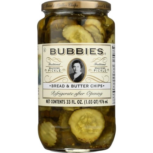 Bubbie's Bread & Butter Pickle Chips, 33 fl oz.
