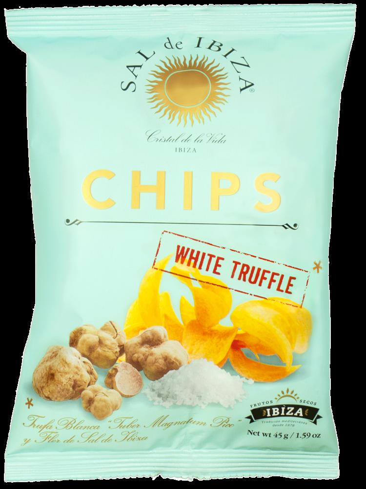 Ibiza White Truffle Potato Chips 1.59oz.