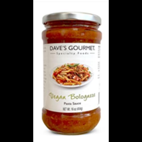 Dave's Gourmet Vegan Bolognese Pasta Sauce, 16 oz