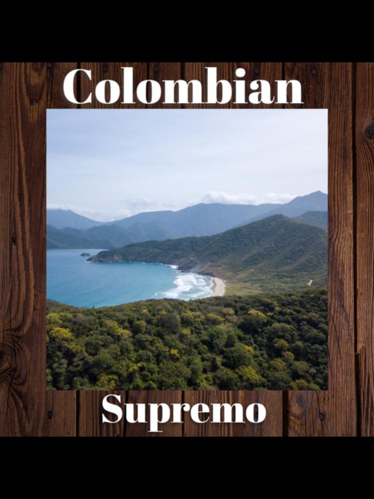 Sheldrake Coffee Roasting Colombian Supremo 1 lb bag
