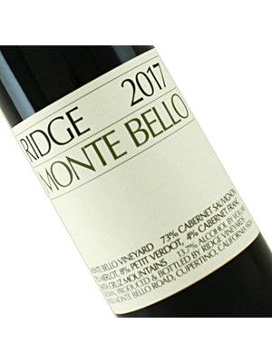 Ridge Vineyards 2017 Monte Bello Red Blend, Santa Cruz Mountains