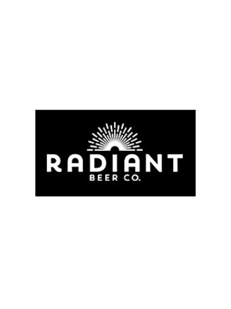 """Radiant Beer """"I Hope You're Ready"""" Hazy IPA 16oz can-Anaheim, CA"""