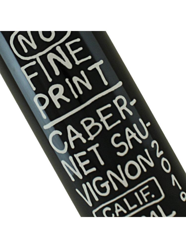 No Fine Print 2019  Cabernet Sauvignon, Napa Valley