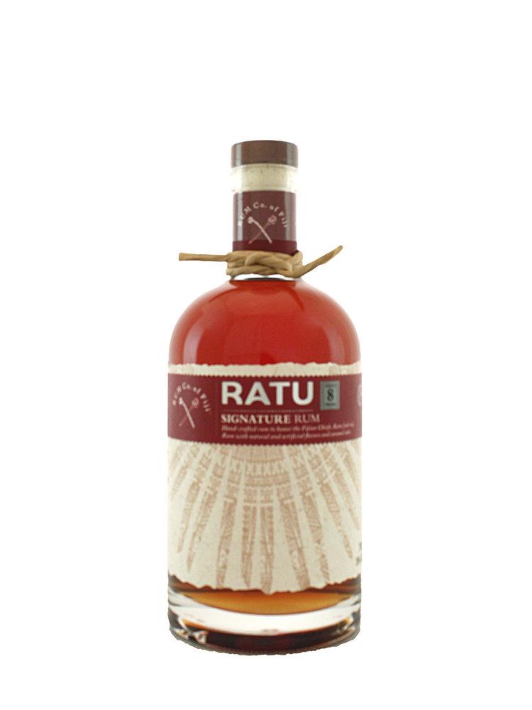 Ratu Signature Rum Aged 8 Years - Fiji