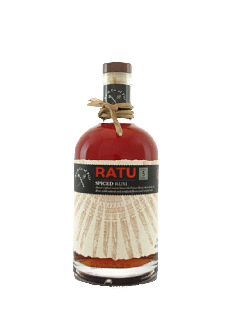 Ratu Spiced Rum Aged 5 Years - Fiji