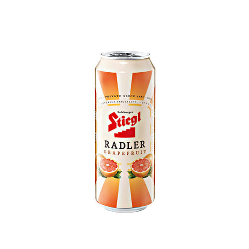 Stiegl Radler with Grapefruit, 500ml can, Austria