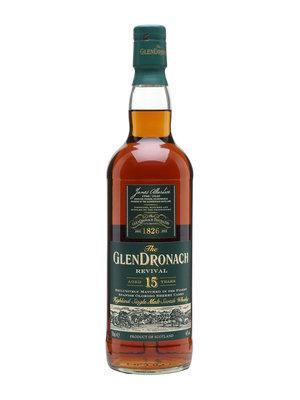 GlenDronach 15 Year Highland Single Malt Scotch Whisky