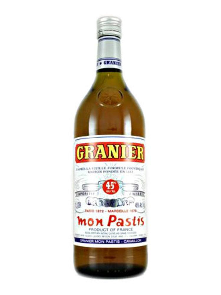 Granier Mon Pastis Liqueur, France - 1 Liter