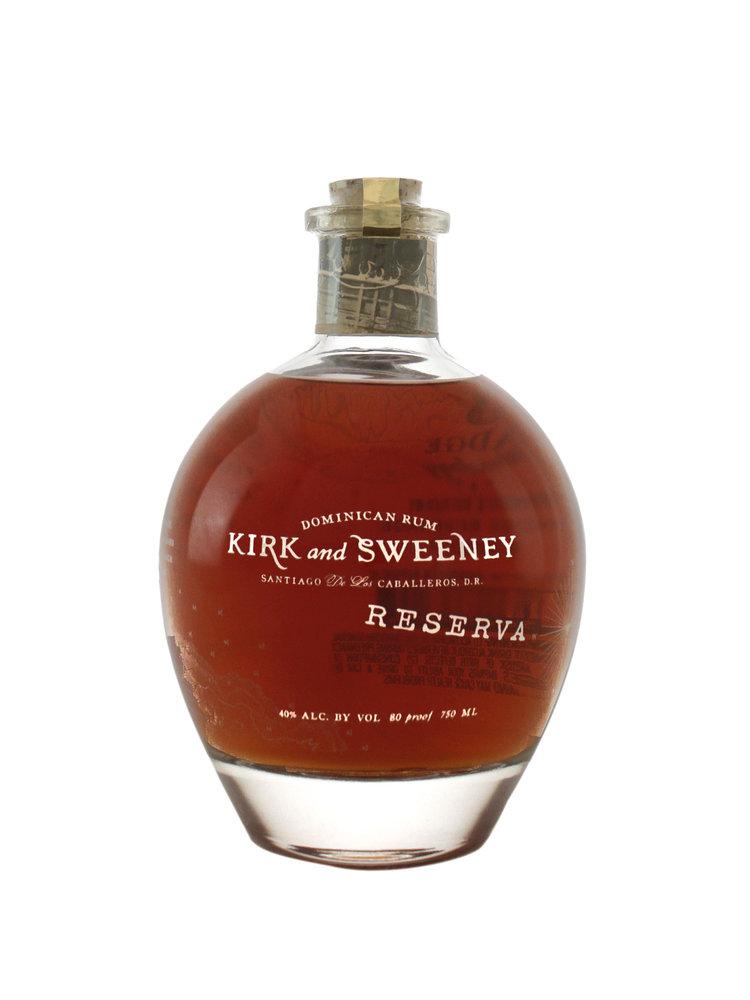 Kirk & Sweeney Dominican Rum Reserva