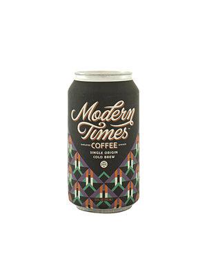 Modern Times Coffee Single Origin Cold Brew 100% Brazil 12oz can - San Diego, CA