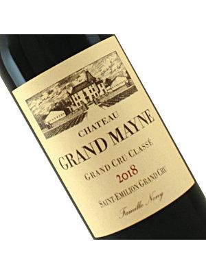 Chateau Grand Mayne 2018 Saint-Emilion Grand Cru, Bordeaux