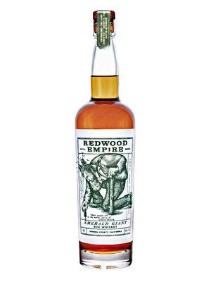 "Redwood Empire ""Emerald Giant"" Rye Whiskey, Sonoma County, California"
