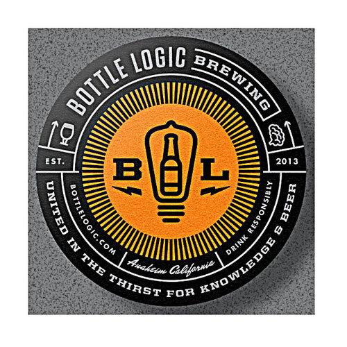 "Bottle Logic ""Fuzzier Logic"" Hazy Peach DIPA 16oz can-Anaheim, CA"