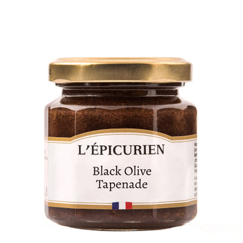 L'Epicurien Black Olive Tapenade, France, 3.5 oz