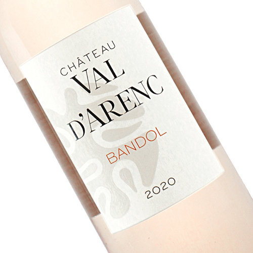 Chateau Val D'Arenc 2020 Bandol Rose, Provence, France