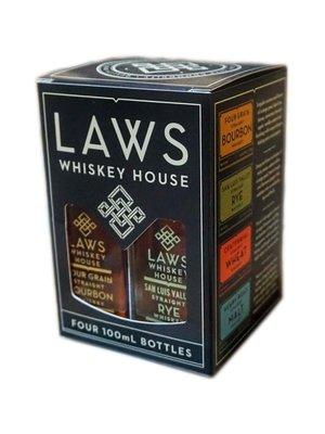 Laws Whiskey House  Quad Set!