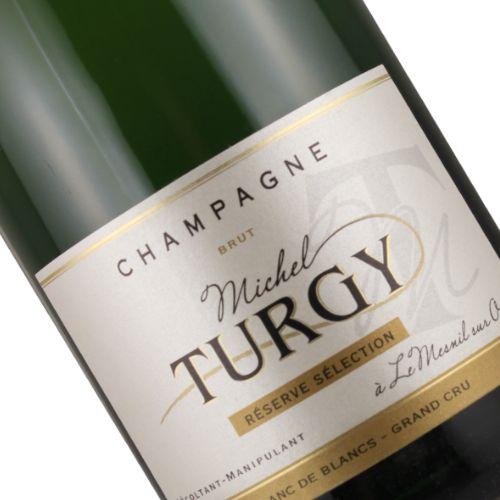 Domaine Turgy NV Blanc de Blancs  Brut Reserve Selection Champagne Grand Cru, Le Mesnil-sur-Oger
