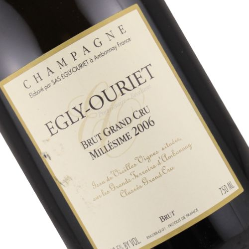 Domaine Egly-Ouriet 2006 Champagne Grand Cru Brut Millesime, Ambonnay