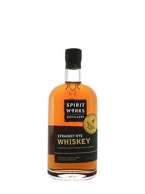 Spirit Works Distillery, Straight Rye Whiskey, Sonoma County, California
