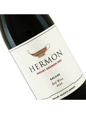 Golan Heights Winery 2020 Mount Hermon Kosher Red Wine, Galilee Israel