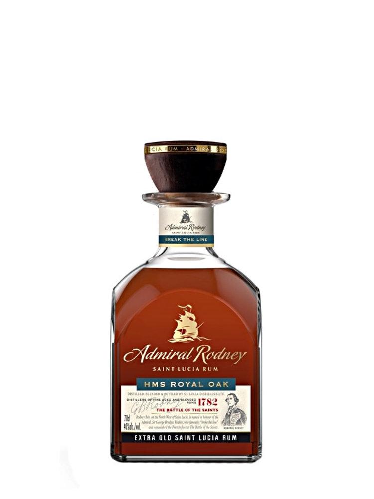 "Admiral Rodney ""HMS Royal Oak"" Saint Lucia Rum 750ml"