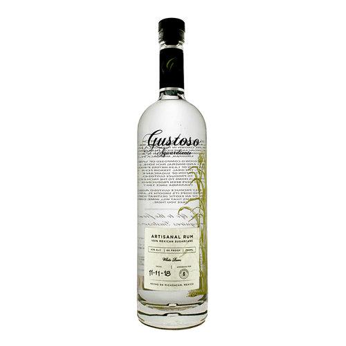 Gustoso Aguardiente White Rum, Michoacan, Mexico
