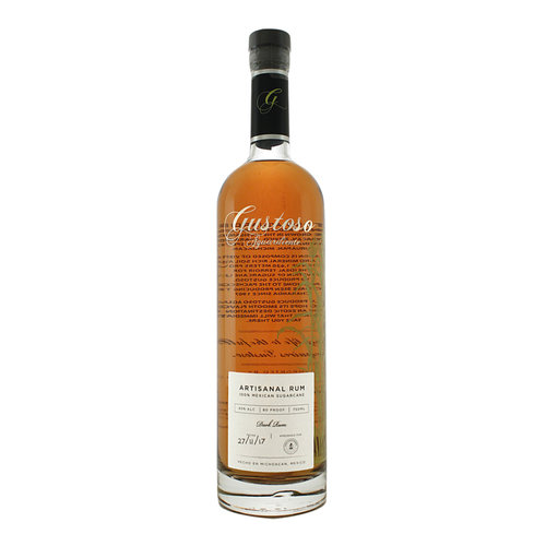 Gustoso Aguardiente Dark Rum, Michoacan, Mexico