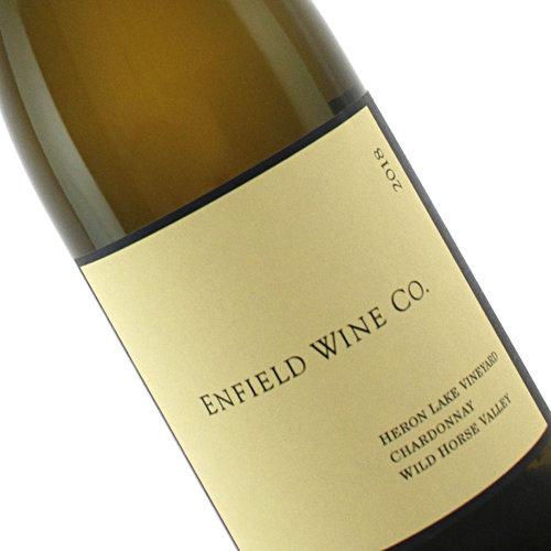 Enfield Wine Co. 2018 Chardonnay, Heron Lake Vineyard,  Wild Horse Valley, California