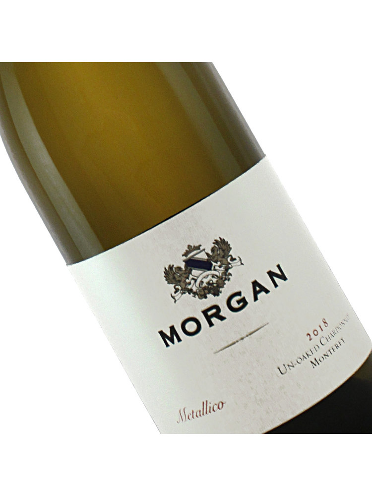 "Morgan 2018 ""Metalico"" Un-Oaked Chardonnay, Santa Lucia Highlands"