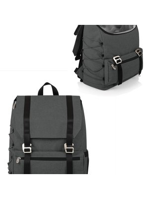 Picnic Time On the Go - Traverse Cooler Backpack, Heathered Gray