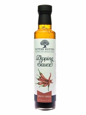 Sutter Buttes Spicy Chili Dipping Oil, Yuba City, CA, 8.5 fl oz