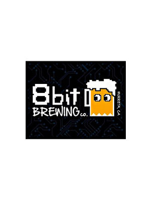 "8 bit Brewing ""Ghost of Brewshima"" Hazy IPA 16oz can- Murrieta, CA"