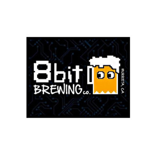 "8 bit Brewing ""Mario Tart-Manic Miner"" Fruited sour 16oz can- Murrieta, CA"