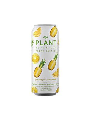 Plant Botanical Vodka Seltzer Pineapple Lemonade 12oz can