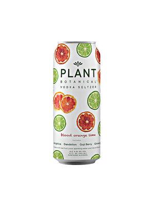 Plant Botanical Vodka Seltzer Blood Orange Lime 12oz can