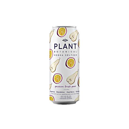 Plant Botanical Vodka Seltzer Passion Fruit Pear 12oz can