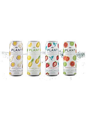 Plant Botanical Vodka Seltzer Multi Pack Strawberry Mint/Pineapple Lemonade/Passion Fruit Pear/Blood Orange Lime 12oz cans