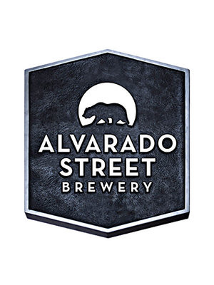 "Alvarado Street Brewery (Blue can)""Santa Catarina"" Imperial Fruited Sour Ale 16oz can-Salinas, CA"