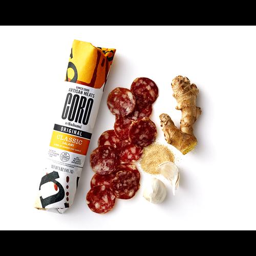 Coro Artisan Meats - Classic Uncured Salami, Seattle, WA, 5 oz