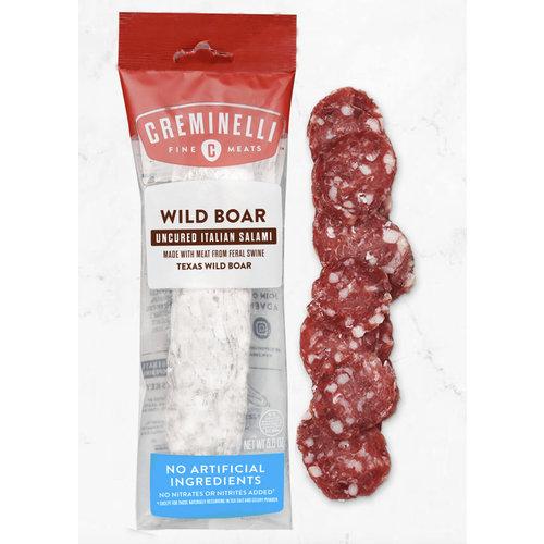 Creminelli Wild Boar Uncured Italian Salami, 5.5 oz