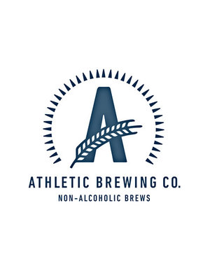 """Athletic Brewing """"Cerveza Atletica"""" Light Copper Non-Alcoholic Mexican Amber 12oz. Can - San Diego, CA"""