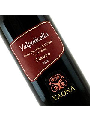 Vaona 2018 Valpolicella Classico, Veneto Italy