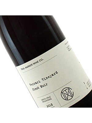 Trail Marker 2018 Pinot Noir, Ferrari Vineyard, Santa Cruz Mountains