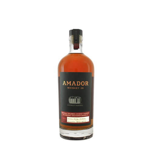 Amador Double Barrel Kentucky Bourbon Whiskey Finished in Cabernet Sauvignon Barrels