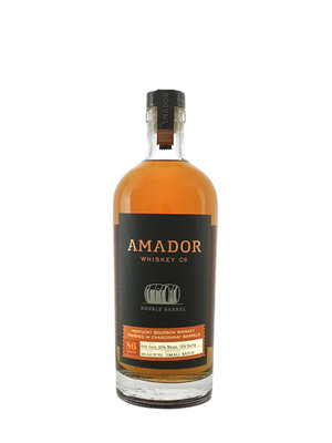 Amador Double Barrel Kentucky Bourbon Whiskey Finished in Chardonnay Barrels