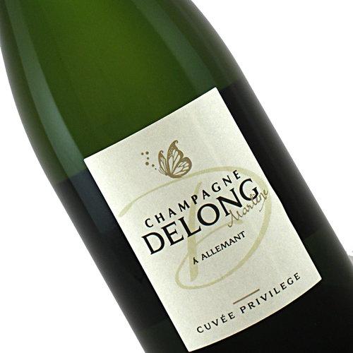 Delong Marlene N.V. Brut Champagne Cuvee Privilege, France