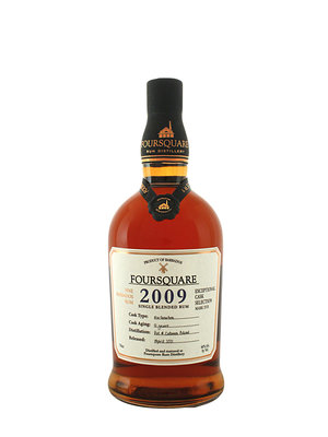 Foursquare 2009 Single Blended Rum, Barbados