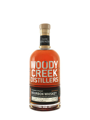Woody Creek Cask Strength Straight Bourbon Whiskey Aged 6 Years, Basalt, Colorado