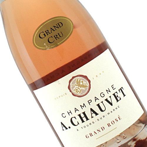 A. Chauvet N.V. Brut Rose Grand Cru , Tours-sur-Marne Champagne
